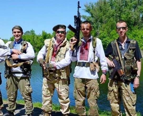 Каратели на Донбассе воруют оружие, списывая потери на ополченцев