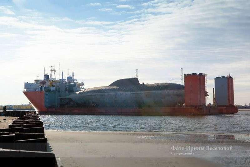 В Северодвинск для модернизации доставили две АПЛ