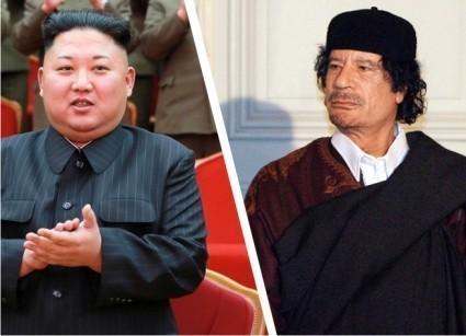 Ким Чен Ын уверенно идёт дорогой Муаммара Каддафи