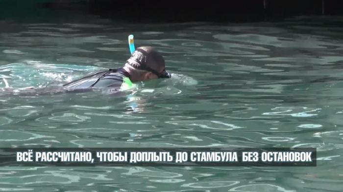 «Русские могут»: Юрий Бурлак отправился вплавь из Севастополя в турецкую Анталью
