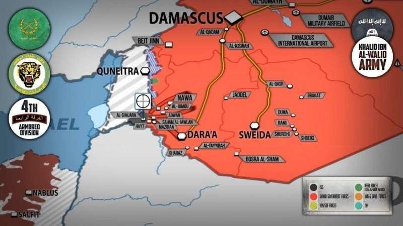 Сирия. Правительственная армия и ВКС России уничтожили свыше 600 наёмников США и Израиля