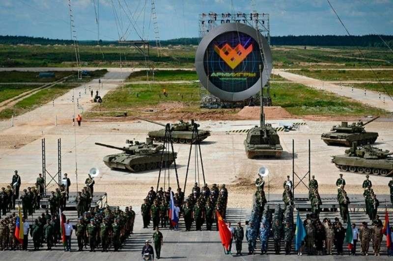 В парке «Патриот» стартуют Армейские международные игры
