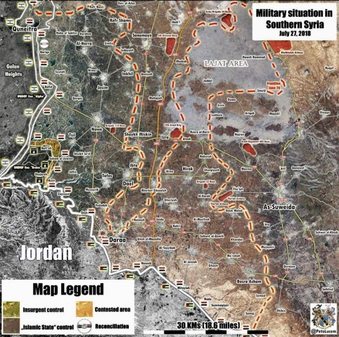 Сирия, Кунейтра. Последние сводки по боям на Юго-Западе