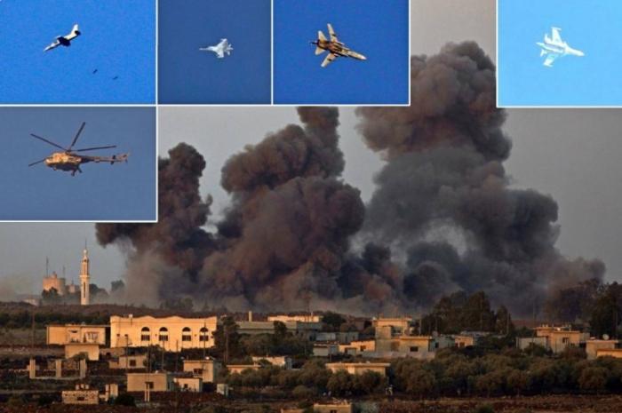 ВКС России «долбят» наёмников: Израильтяне уже снимают русские самолеты