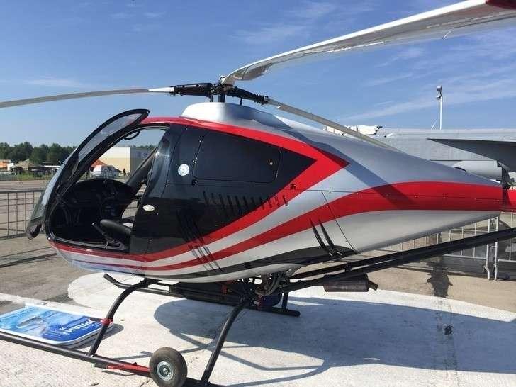 В России построен второй экземпляр двухместного вертолёта «Орлан»