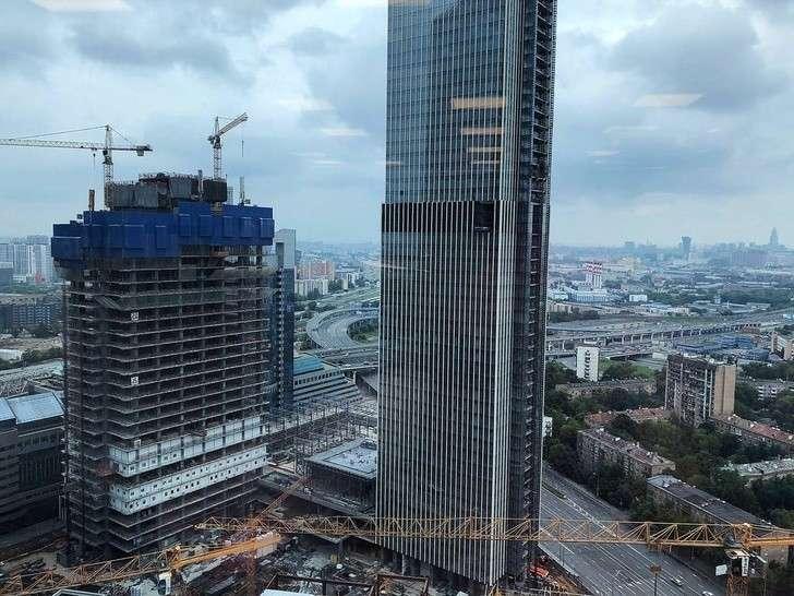 Ход строительства комплекса «Нева тауэрс» вМоскве