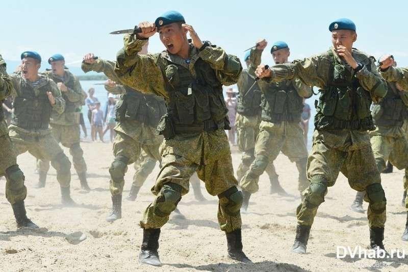 Спецназ ГРУ в Хабаровске показал, кто тут крутые