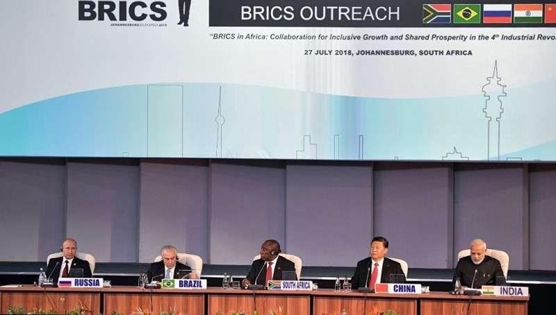 Саммит БРИКС: незападные страны создают свой мировой порядок