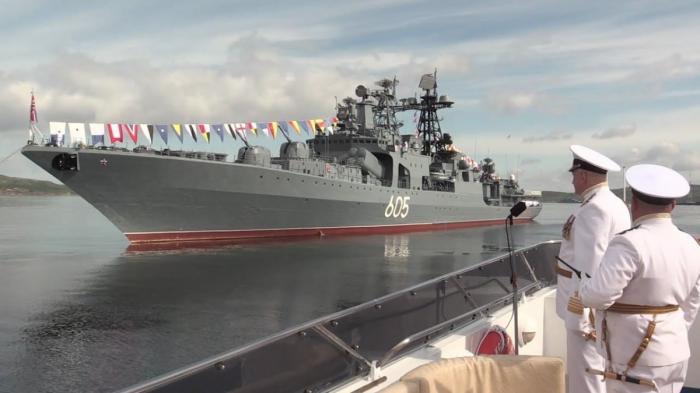 Военно-морской парад в Петербурге. Прямая трансляция!