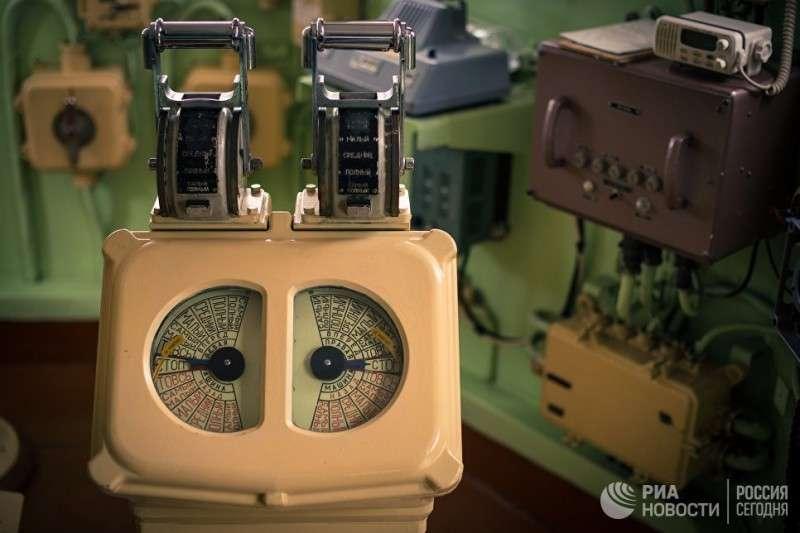 Рукоятки машинного телеграфа СС «Коммуна»
