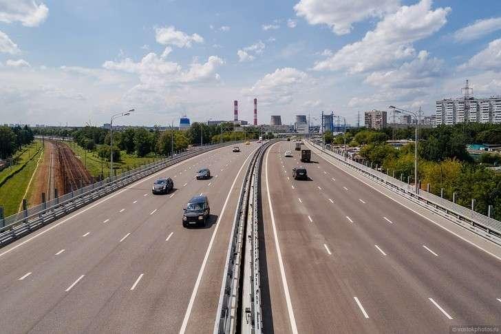 Строительство хорд идублеров назападе Москвы