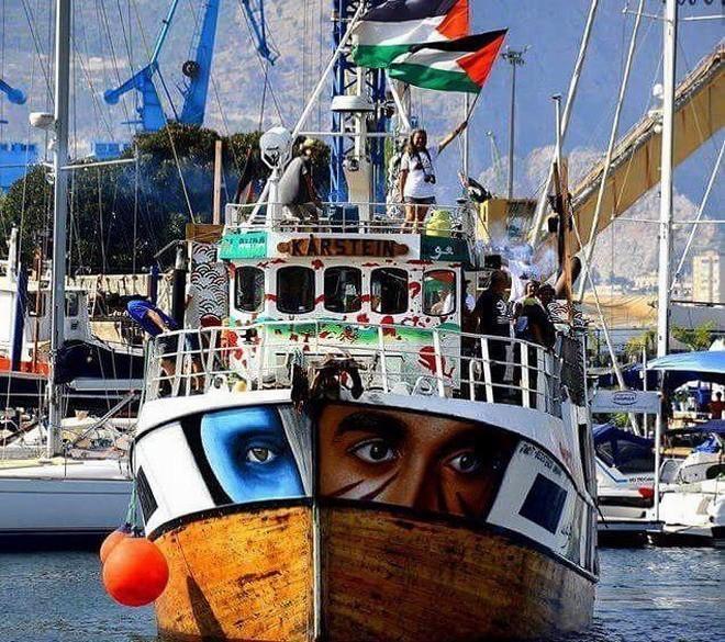 Израиль перехватил шедшее в cектор Газа судно с гуманитарной помощью и медикаментами