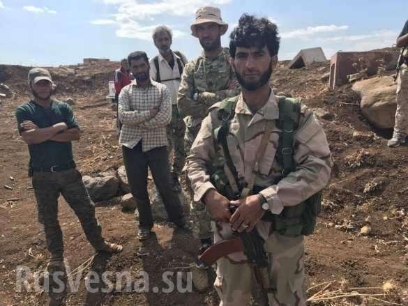 Сирия: ВКС России вместе с «духами» громят ИГИЛ | Русская весна
