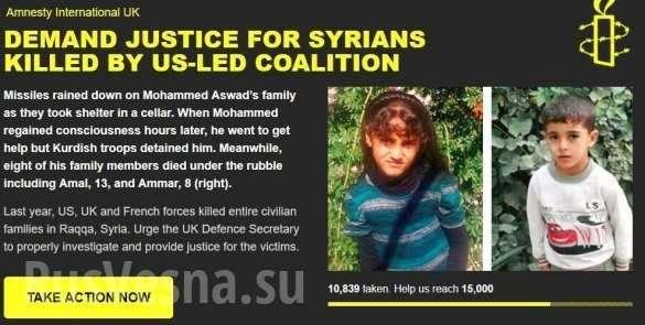 Сирия: «Это ад, убивали даже младенцев!» – британцы в шоке от зверств Коалиции США | Русская весна