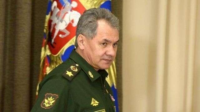 Сергей Шойгу на открытие Армейских международных игр