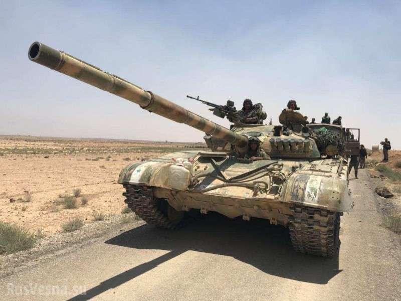 Бывшие американские наёмники при поддержке ВКС РФ взяли последнюю крепость ИГ на юге Сирии