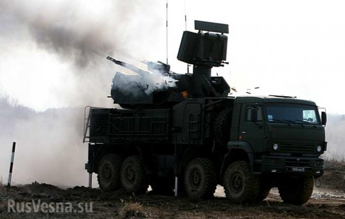 Сирия, Хмеймим: «Панцирь» отразил налёт на базу ВКС России