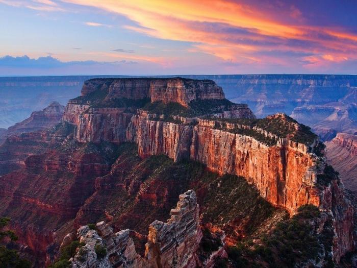 Чудо природы Гранд-Каньон в США является гигантской рукотворной выработкой