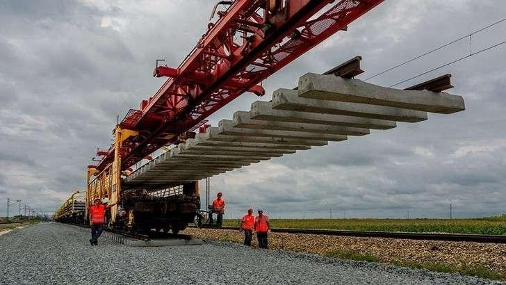 РЖД начали строить вСербии скоростную железную дорогу