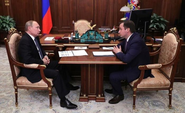 Встреча Президента сврио главы Ненецкого автономного округа Александром Цыбульским
