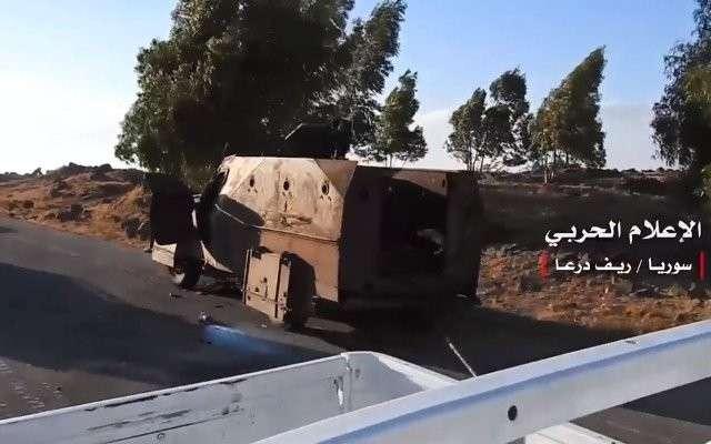 На юге Сирии израильские наёмники отрезаны от своих кураторов