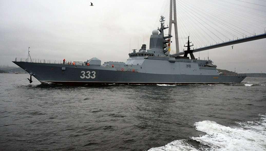 На острове Русский во Владивостоке прошел Международный Дальневосточный морской салон