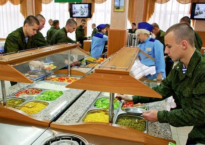 Питание в армии России. Что изменилось за 6 лет?