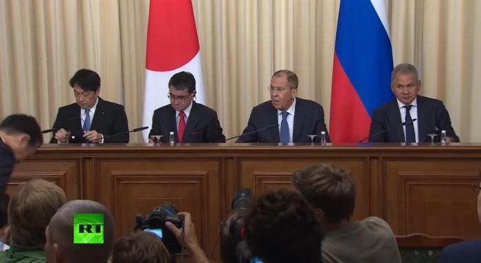 Сергей Лавров подвёл итоги встречи с главой МИД Японии Таро Коно