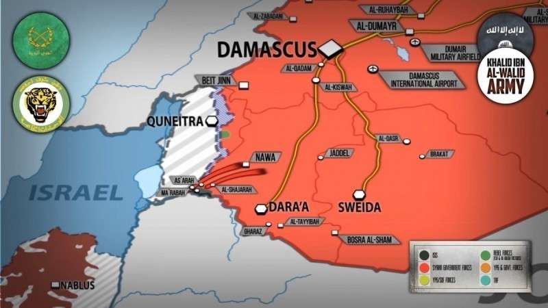 Сирия. ИГИЛ у границ Израиля практически весь ликвидирован