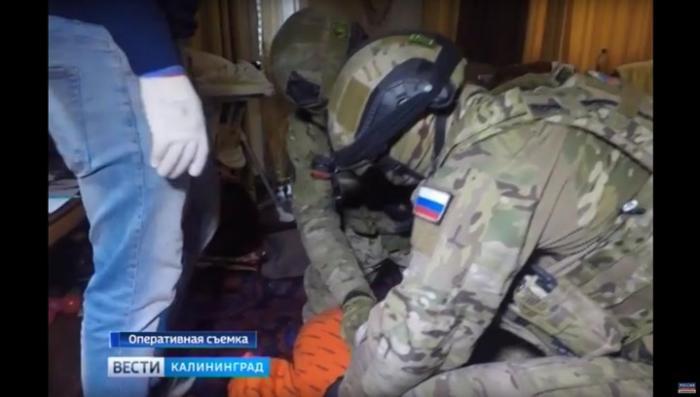 В Калининграде задержали сразу 9 вербовщиков ИГ. Эксклюзивные кадры