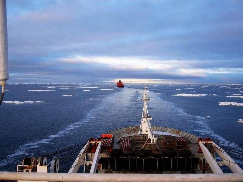 Пиндосы задумали оспорить право России на Северный морской путь