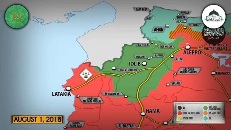 Сирия. Башар Асад: следующая цель провинция Идлиб!