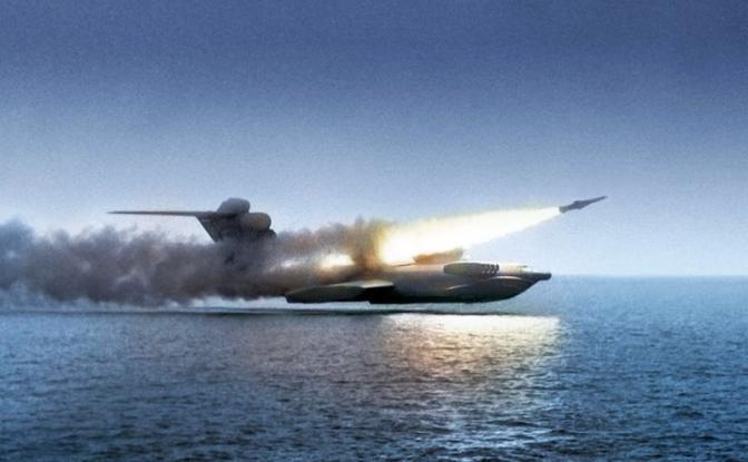 С кем будет сражаться во льдах Арктики русский экраноплан «Орлан»
