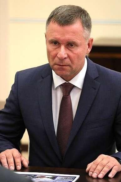 Министр поделам гражданской обороны, чрезвычайным ситуациям иликвидации последствий стихийных бедствий Евгений Зиничев.