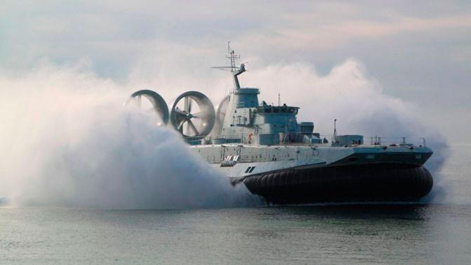 Россия возобновляет производство гигантов на воздушной подушке «Зубров» и «Мурен»