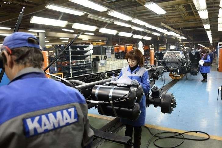 КАМАЗ произвел свыше 18 тысяч грузовиков за полгода