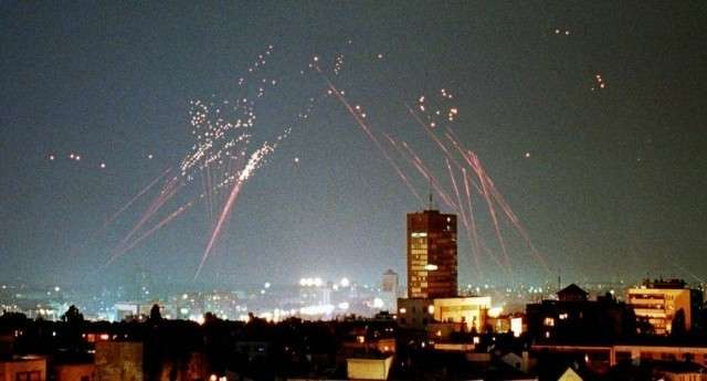 Бомбардировка Белграда авиацией НАТО. 1999