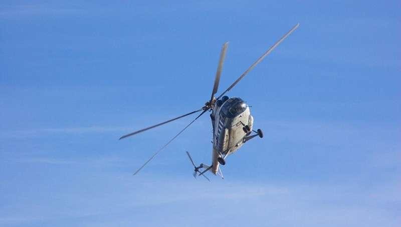 Разбившийся Ми-8 при взлете вроде бы столкнулся с грузом другого вертолета