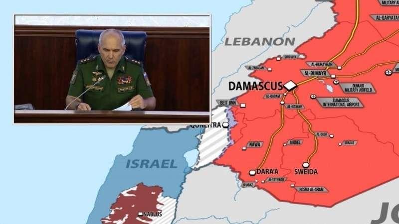 Зачистка границы Сирии и Иордании от наёмников США и Израиля