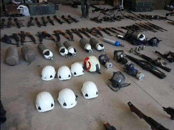 Сирийская армия находит на зачищенной территории схроны с оружием США