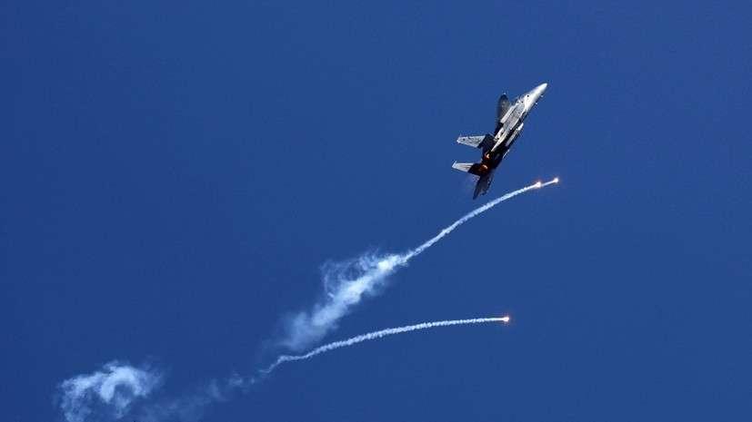 ВВС израильских террористов нанесли удар по территории сектора Газа