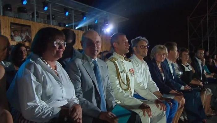 Владимир Путин прибыл в Севастополь на «Оперу в Херсонесе»