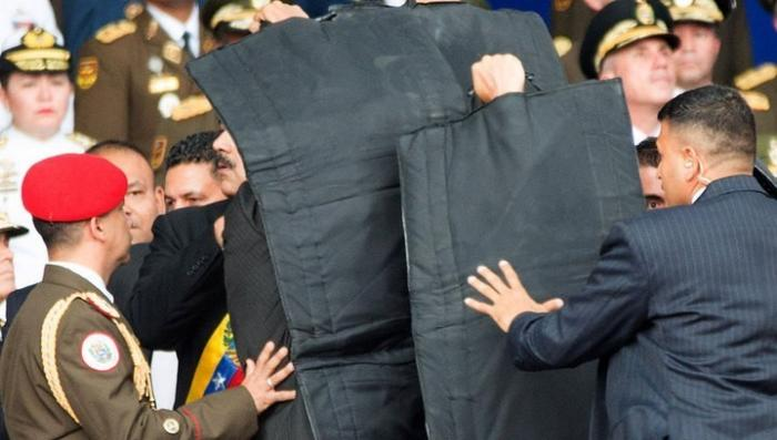 Покушение на президента Венесуэлы Николаса Мадуро не обошлось без пиндосов