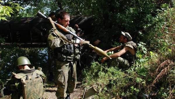 Ополченцы доставили оружие партизанам в Херсоне и Запорожье