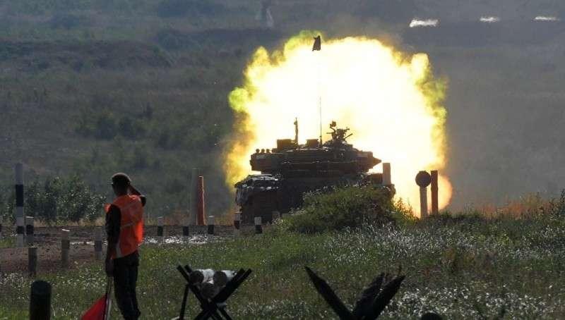 Танковый биатлон 2018. Россия доминирует абсолютно