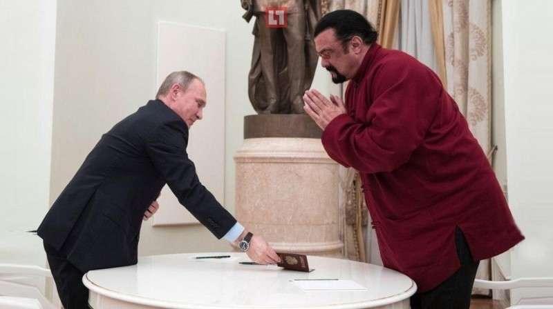 Назначение Стивена Сигала – это креативная дипломатия Владимира Путина