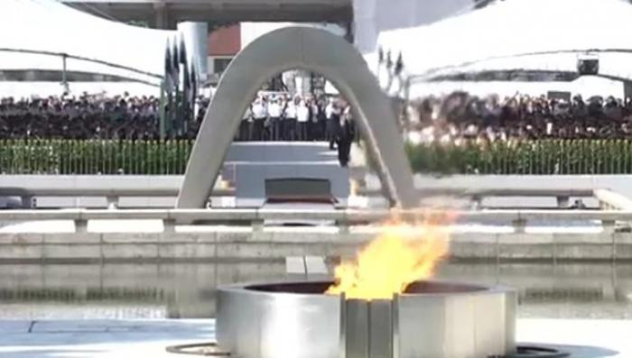 Япония вспоминает как янки стёрли в радиоактивный пепел Хиросиму