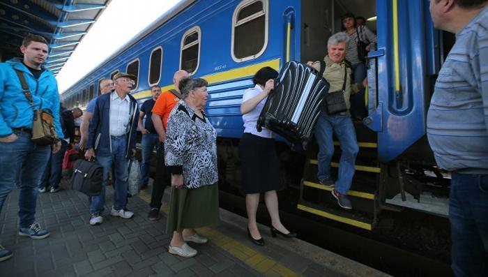 Связь Украины с Россией: она мешает пилить железные дороги