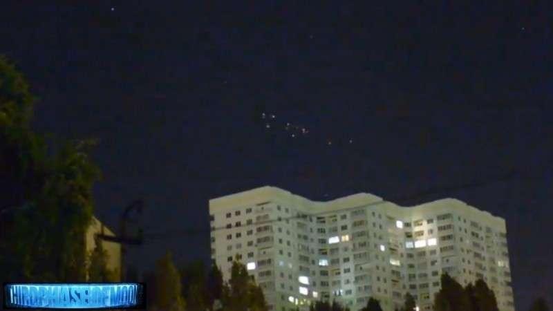 НЛО над Львовом: космические корабли летят косяком