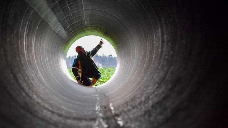 Германия: укладка трубопровода Северный поток – 2 начата!